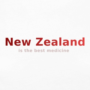 New Zealand is the best medicine - Frauen Premium Langarmshirt