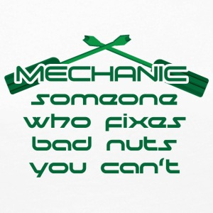 Mechanic: Someone Who Fixes Bad Nuts - Women's Premium Longsleeve Shirt
