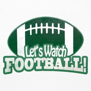 Let's Watch FOOTBALL - Women's Premium Longsleeve Shirt