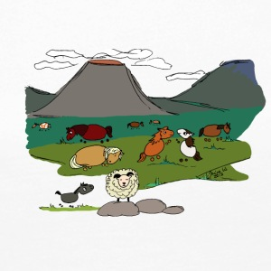 Grettir and his family - Women's Premium Longsleeve Shirt