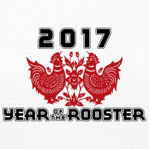 2017 Year Of The Rooster - Premium langermet T-skjorte for kvinner