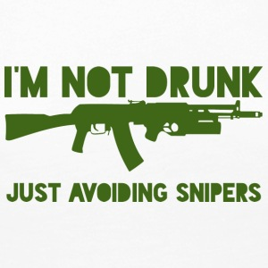 Military / Soldiers: I'm not drunk. Just avoiding - Women's Premium Longsleeve Shirt