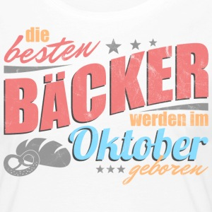 Baker's birthday October - Women's Premium Longsleeve Shirt