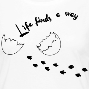 Life Finds Its Way - T-shirt manches longues Premium Femme