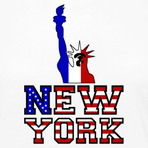 New York Liberty - Långärmad premium-T-shirt dam