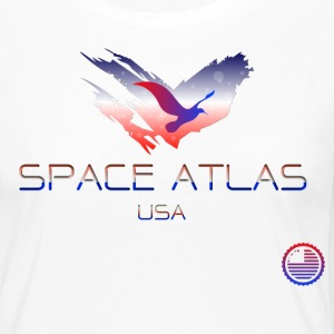 Space Atlas Tee USA - Women's Premium Longsleeve Shirt