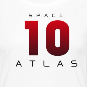 Space Atlas Baseball Long Sleeve 10 - Women's Premium Longsleeve Shirt