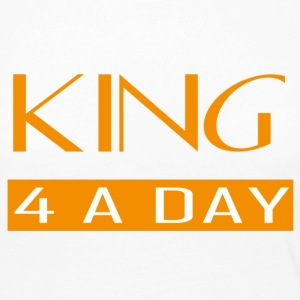 King for a day - Vrouwen Premium shirt met lange mouwen