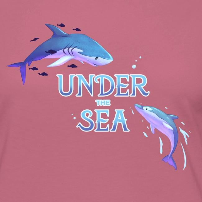 Under the Sea - Shark and Dolphin