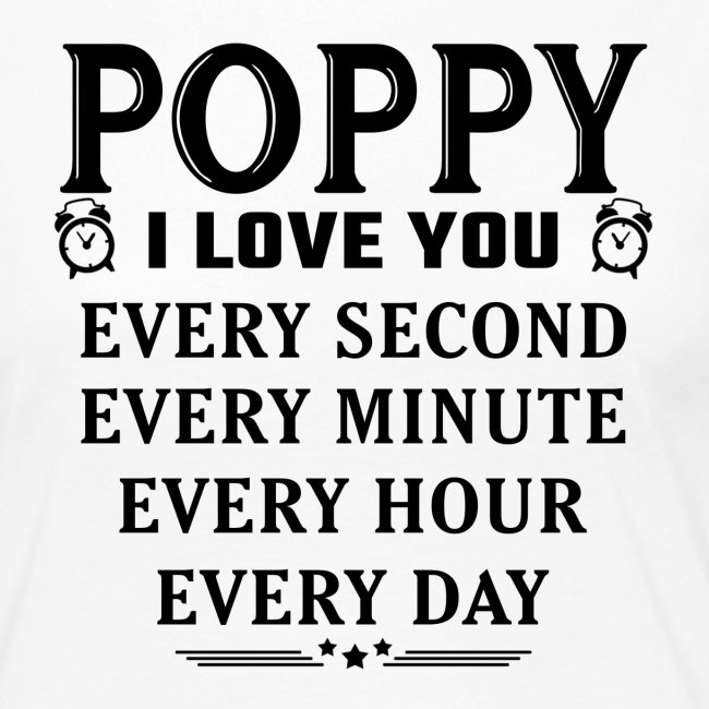 I Love You Poppy