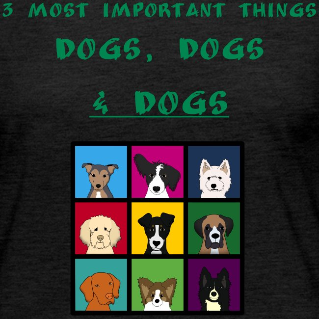 3 most important things -