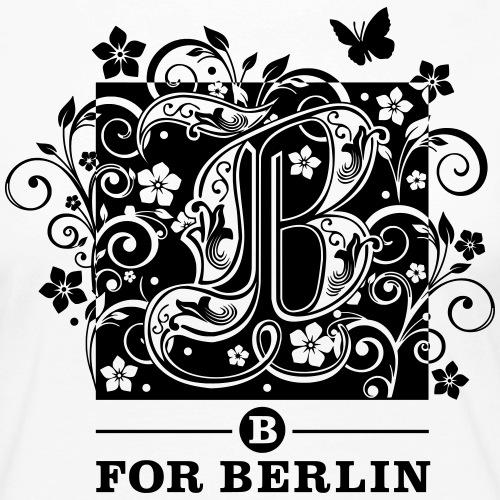 B for Berlin - Flower 2 - - Frauen Premium Langarmshirt