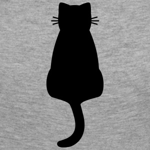 Cat black silhouette - Women's Premium Longsleeve Shirt