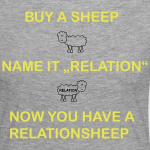 relation Sheep - T-shirt manches longues Premium Femme
