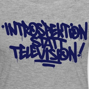 Introspection instead Television - Women's Premium Longsleeve Shirt