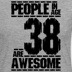PEOPLE IN AGE 38 ARE AWESOME - Women's Premium Longsleeve Shirt