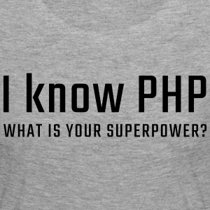 I know PHP - Women's Premium Longsleeve Shirt