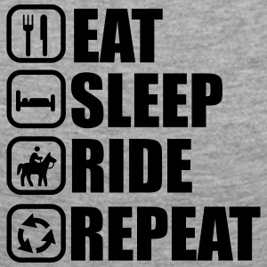 Eat , sleep , ride , Reiten , Pferd - Frauen Premium Langarmshirt