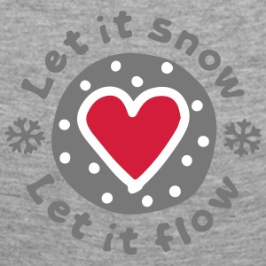 Let_It_Snow - T-shirt manches longues Premium Femme