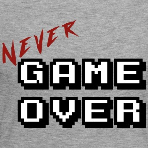 Never game over white - T-shirt manches longues Premium Femme