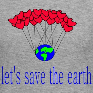 la-s_save_the_earth - Premium langermet T-skjorte for kvinner