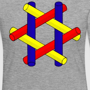 Optical Illusion Pipes Design - Women's Premium Longsleeve Shirt