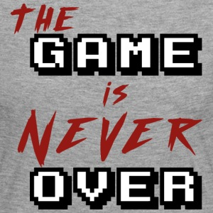 The game is never over - T-shirt manches longues Premium Femme