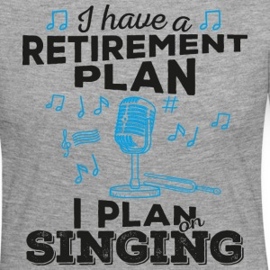 Retirement plan singing (dark) - Women's Premium Longsleeve Shirt