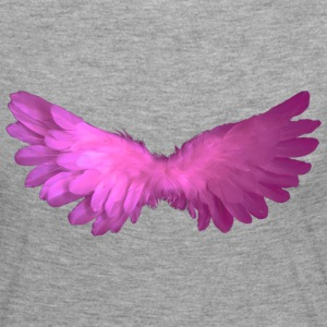 Angel Wings - T-shirt manches longues Premium Femme