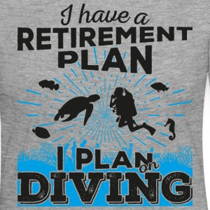Retirement plan diving (dark) - Women's Premium Longsleeve Shirt