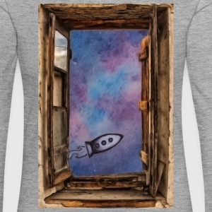 Window on 'universe - Women's Premium Longsleeve Shirt