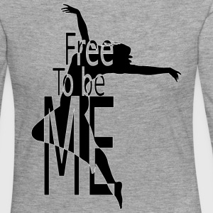 FREE_TO_BE - Women's Premium Longsleeve Shirt