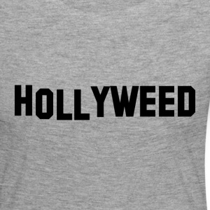 Hollyweed Noir - T-shirt manches longues Premium Femme