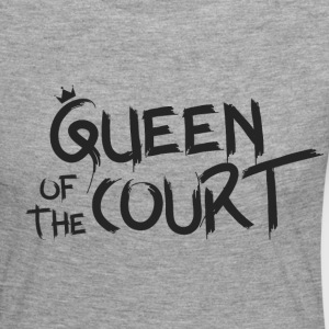 Queen of the court - Frauen Premium Langarmshirt