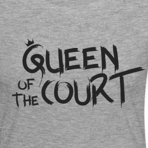 Queen of the court - Women's Premium Longsleeve Shirt