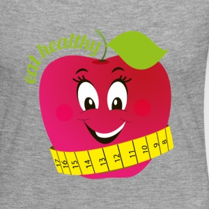 Eat healthy - Frauen Premium Langarmshirt