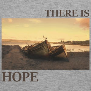 There_is_hope_natural_colour - Långärmad premium-T-shirt dam