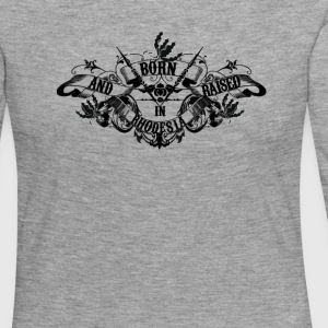 Rhodesia Born And Raised - Women's Premium Longsleeve Shirt