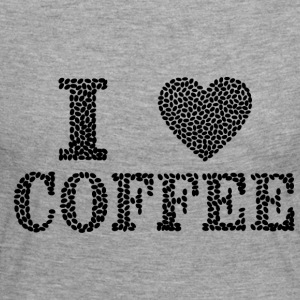 I Love Coffee - Frauen Premium Langarmshirt