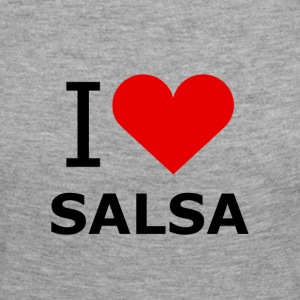 I Love Salsa Shirt - DanceShirts - Women's Premium Longsleeve Shirt