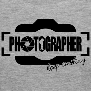PHOTOGRAPHER KEEP SMILING - Frauen Premium Langarmshirt