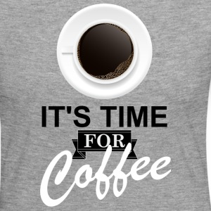 Coffee_time - T-shirt manches longues Premium Femme