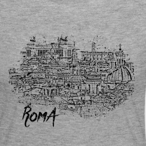 Roma / Rome motif with city sketch - Women's Premium Longsleeve Shirt