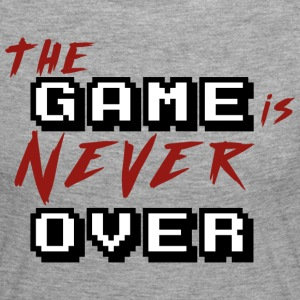 The game is never over_v2 - T-shirt manches longues Premium Femme