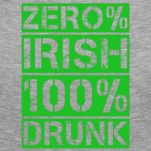 zero% Irish, 100% drunk - Women's Premium Longsleeve Shirt