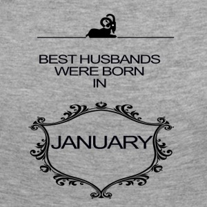 BEST HUSBAND WERE BORN IN JANUARY - Women's Premium Longsleeve Shirt