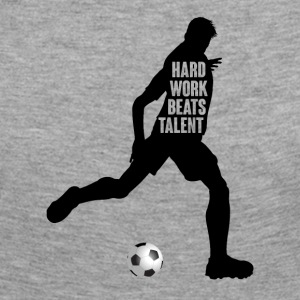 Football: Hard Work Beats Talent - T-shirt manches longues Premium Femme
