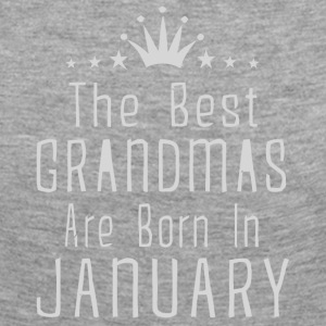 The best Grandmas are born in January shirt - Women's Premium Longsleeve Shirt