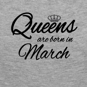 Queens Born March Princess Birthday Birthday - Women's Premium Longsleeve Shirt
