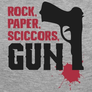 Amazing rock paper scissors gun - Women's Premium Longsleeve Shirt
